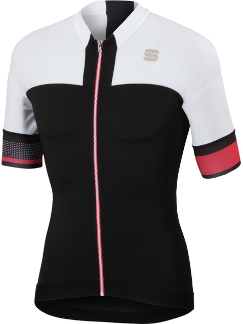 Sportful Strike Jersey Men black/white